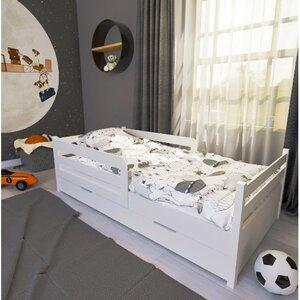 Кровать детская одноярусная FeliFam Classic Конструктор FC-104W Белый