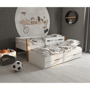 Кровать детская одноярусная FeliFam Classic Конструктор FC-106W Белый