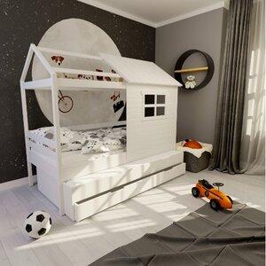 Кровать детская одноярусная FeliFam Classic Конструктор FC-115W Белый