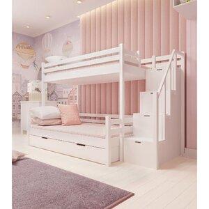Кровать семейная двухъярусная FeliFam Classic Конструктор FC-513W