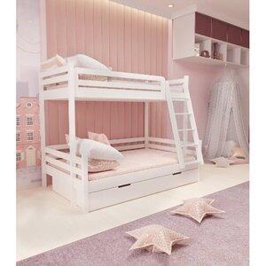 Кровать семейная двухъярусная FeliFam Classic Конструктор FC-514W