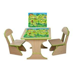 Игровой столик растущий +2 стульчика, Игра