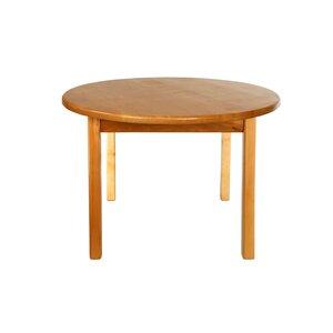Детский деревянный столик с круглой столешницей