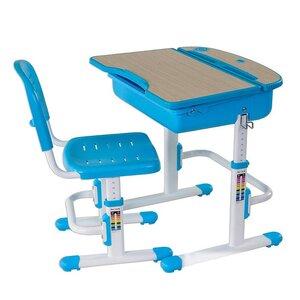 Комплект парта и стул-трансформеры FunDesk Capri Blue