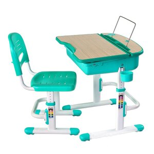 Комплект парта и стул-трансформеры FunDesk Capri Green