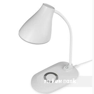 Лампа настольная светодиодная с функцией беспроводной зарядки Fundesk LC6 White