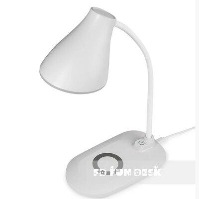Лампа настольная светодиодная с функцией беспроводной зарядки Fundesk LC6 White производства Fundesk - главное фото