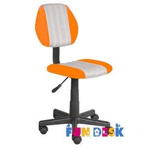 Детское кресло FunDesk LST4 Orange-Grey