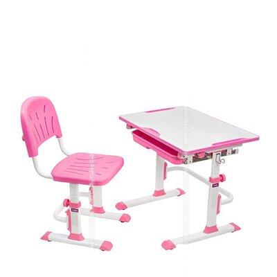 Растущая детская парта со стульчиком Cubby LUPIN Pink производства Fundesk - главное фото