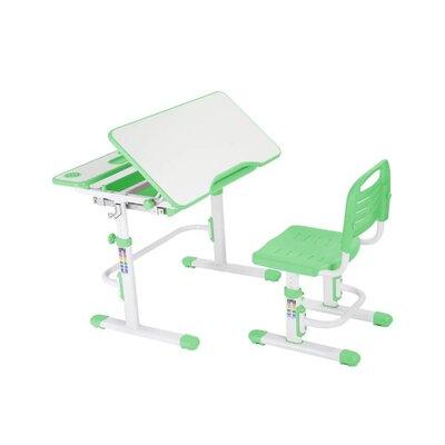 Эргономический комплект Cubby парта и стул-трансформеры Botero Green производства Fundesk - главное фото