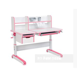 Детский стол-трансформер FunDesk Libro Pink