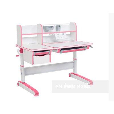Детский стол-трансформер FunDesk Libro Pink производства Fundesk - главное фото