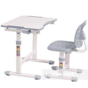 Комплект FUNDESK парта + стул трансформеры OMINO GREY