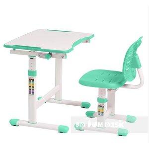 Комплект FUNDESK парта + стул трансформеры OMINO GREEN