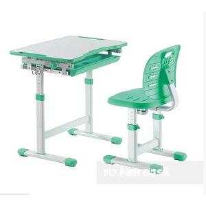 Комплект FUNDESK парта + стул трансформеры Piccolino III Green