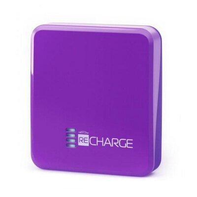 Портативное зарядное устройство TechLink Recharge 2500 Purple производства Fundesk - главное фото