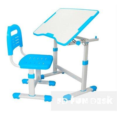 Комплект парта и стул-трансформеры FunDesk Sole II Blue производства Fundesk - главное фото