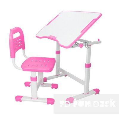 Комплект парта и стул-трансформеры FunDesk Sole II Pink производства Fundesk - главное фото