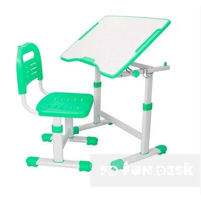 Комплект парта и стул-трансформеры FunDesk Sole II Green производства Fundesk - главное фото