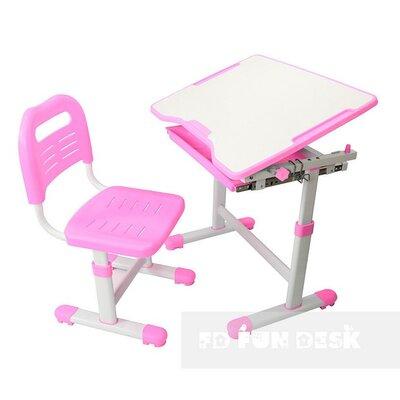 Комплект парта и стул-трансформеры FunDesk Sole Pink производства Fundesk - главное фото