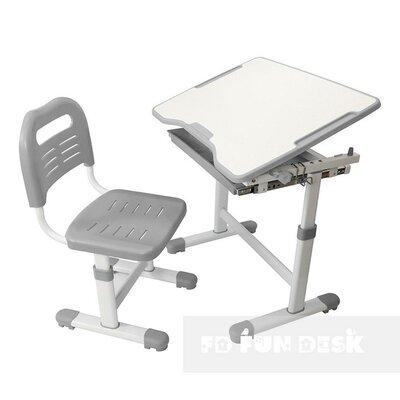 Комплект парта и стул-трансформеры FunDesk Sole Grey производства Fundesk - главное фото