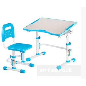Комплект парта + стул трансформеры Vivo II Blue FUNDESK