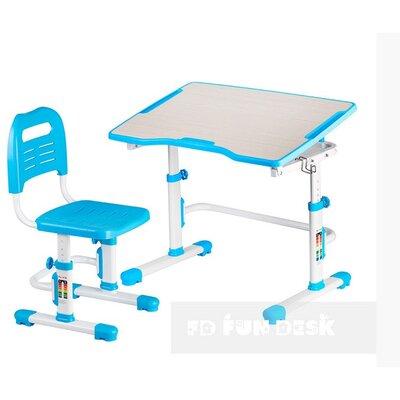 Комплект парта + стул трансформеры Vivo II Blue FUNDESK производства Fundesk - главное фото