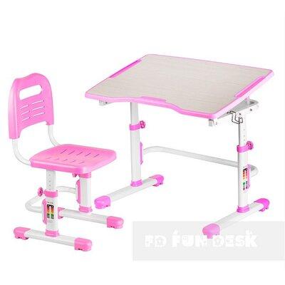 Комплект парта + стул трансформеры Vivo II Pink FUNDESK производства Fundesk - главное фото