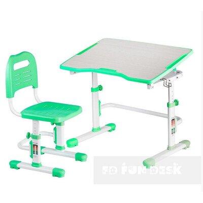 Комплект парта + стул трансформеры Vivo II Green FUNDESK производства Fundesk - главное фото