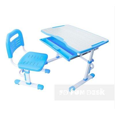 Комплект парта + стул трансформеры Vivo Blue FUNDESK производства Fundesk - главное фото