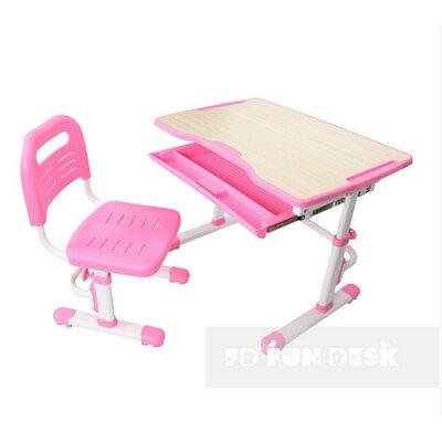Комплект парта + стул трансформеры Vivo Pink FUNDESK производства Fundesk - главное фото