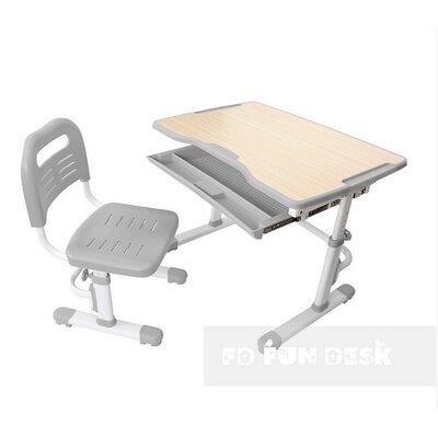 Комплект парта + стул трансформеры Vivo Grey FUNDESK производства Fundesk - главное фото