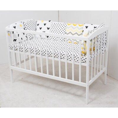 Детская кроватка Anet (3 высоты) 60*120см, цвет крашеная производства Гойдалка - главное фото