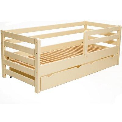 Подростковая кроватка Aurora с ящиками 80*160 см цвет крашеная производства Гойдалка - главное фото