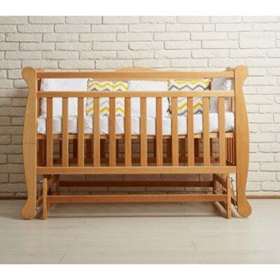 Детская кроватка Natali на подшипниках (3 высоты) 60*120 см, цвет бук производства Гойдалка - главное фото
