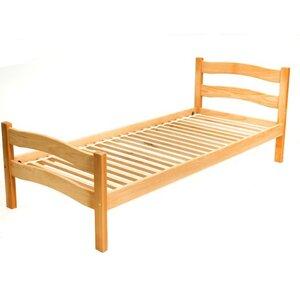 Подростковая кроватка Paris 80*190 см цвет бук