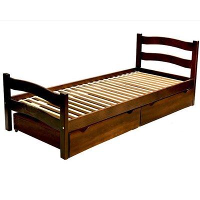 Подростковая кроватка Paris с ящиком 80*190 см цвет крашеная производства Гойдалка - главное фото