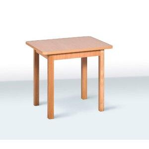 Детский стол одноместный цвет бук