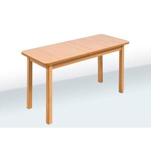 Детский стол двухместный цвет бук