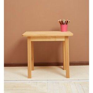 Детский столик одноместный (3 высоты) цвет бук