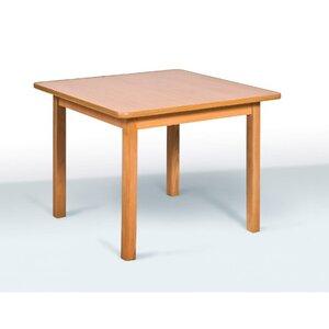 Детский стол четырехместный цвет бук