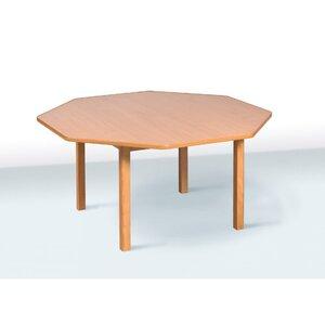 Детский стол восьмиместный цвет бук