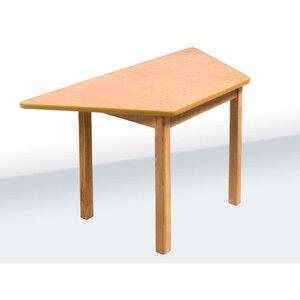 Детский стол трапецеевидный цвет бук
