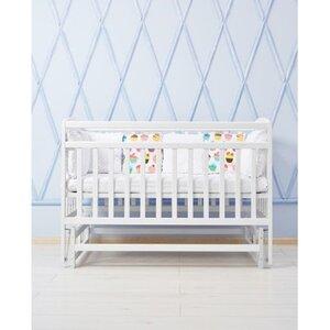 Детская кроватка Valeri на подшипниках (3 высоты) 60*120 см, цвет крашенная