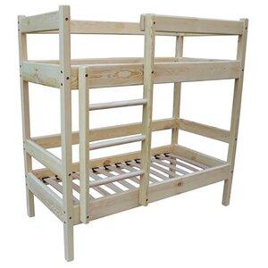 Двухъярусная кровать 60*140 см для садика