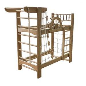 Двухъярусная кровать-спортивный уголок Пират PRO