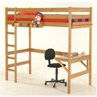 Кровать-чердак с рабочей зоной Соло-1, 70*160