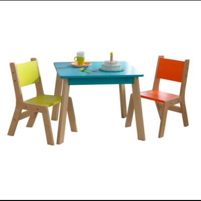 Детский набор столик и стульчики Акварель производства Irelle - главное фото