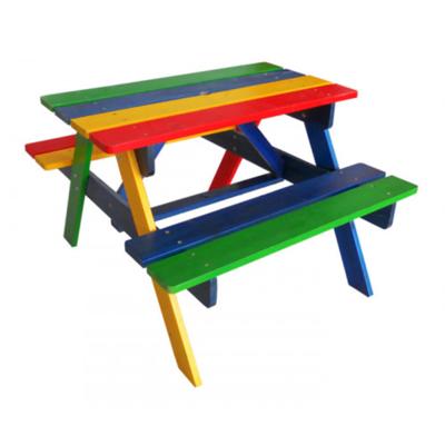 Детский столик с лавочками садово-уличный производства Irelle - главное фото