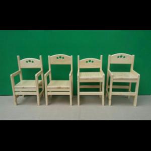 Растущий стульчик из сосны